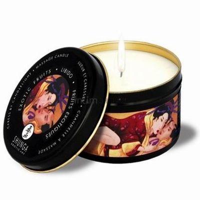 Афродизирующая массажная свеча Лаванда