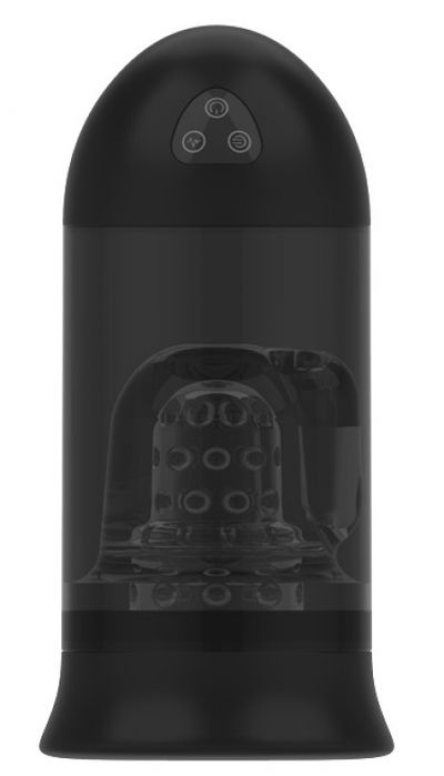 Вибромастурбатор Easy Love Bullet Head черный 20,3 см