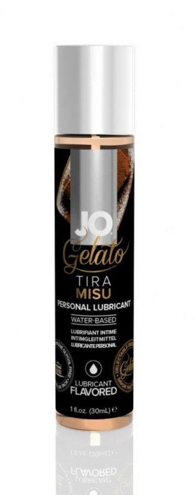 Съедобный лубрикант JO Gelato Tiramisu Flavored Lubricant 30 мл