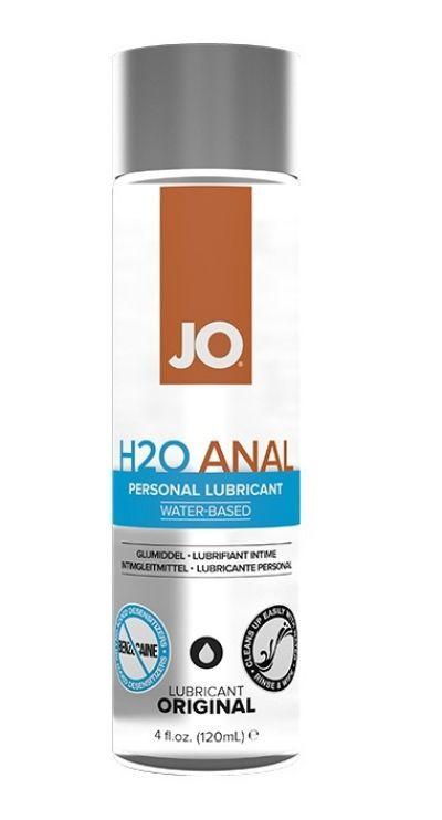 Анальный лубрикант на водной основе JO Anal H2O 120 мл