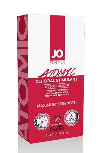 Возбуждающий гель для клитора мощного действия JO Clitoral Atomic 10 мл