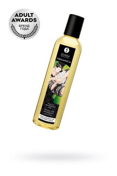 Масло для массажа Shunga Organica Aroma and Fragrance Free, возбуждающее, 240 мл.