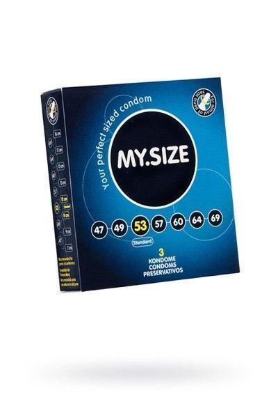Презервативы  'MY.SIZE' №3 размер 53 (ширина 53mm)