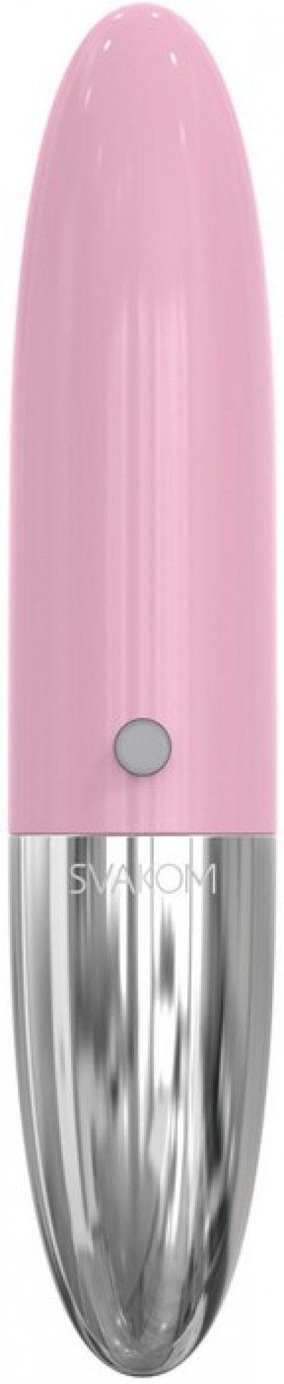 Мини-вибратор Rebecca, 5 режимов вибрации, розовый