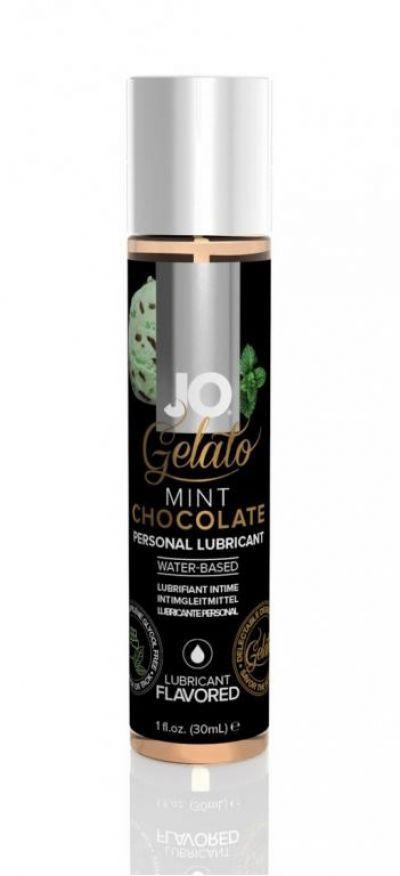 Съедобный лубрикант Мятный шоколад JO Gelato Lubricant 30 мл