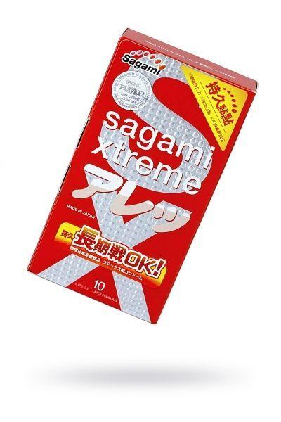 Презервативы латексные Sagami Xtreme Feel Long №10
