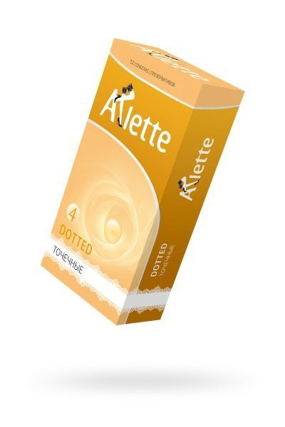 Презервативы 'Arlette' №12, Dotted Точечные 12 шт.