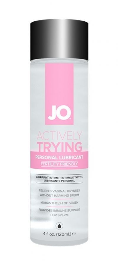 Лубрикант для создания здоровой среды при зачатии JO Actively Trying 120 мл.