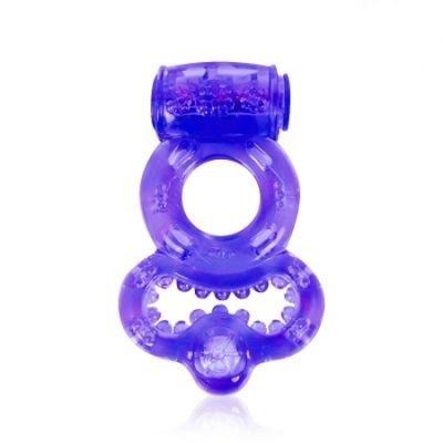 Кольцо эрекционное с вибрацией 2 см