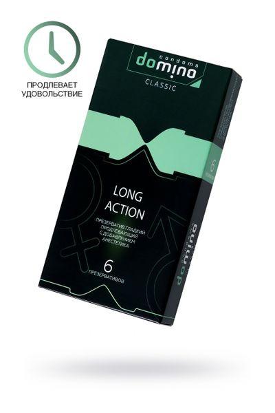 Презервативы Luxe  DOMINO CLASSIC Long action 6 шт, 18 см