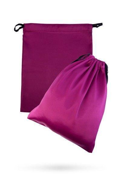 Подарочный мешок из атласа для хранения игрушек, розовый, 2 шт