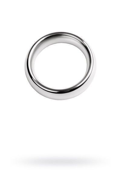 Кольцо на пенис, TOYFA Metal, серебристое
