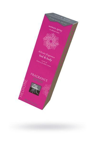Спрей с феромонами для тела и белья с ароматом Вишни и Белого Лотоса 100 мл.
