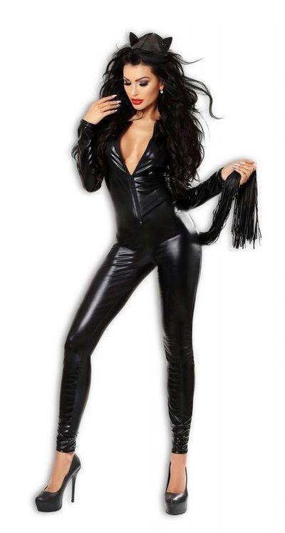 Костюм кошки Catchy черный L/XL