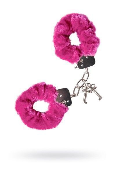 Наручники 'Штучки-дрючки' меховые розовые